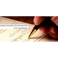 Hukukçu Olmayanlar İçin Evrak Yönetimi - Av.Dr. Çağrı Bağatur (Video)