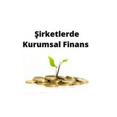 Şirketlerde Kurumsal Finans