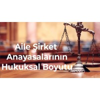 Aile-Şirket Anayasasının Hukuksal Boyutu - Işıl Bağatur