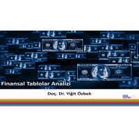 Finansal Tablolar Analizi - Doç. Dr. Yiğit Özbek (Video)