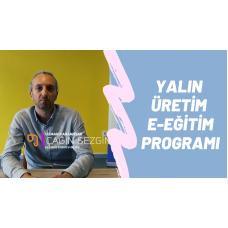 Yalın Üretim E-Eğitim Programı - Çağın Sezgin (Video)