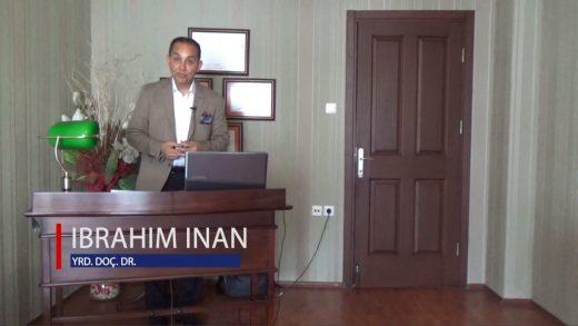 Kültürün Anlamı ve Boyutları Eğitimi  – İbrahim İnan