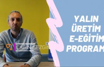 Yalın Üretim E-Eğitim Programı